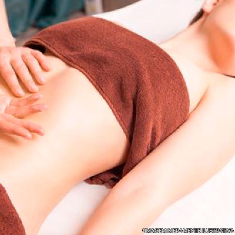 Massagem Modeladora para Celulite